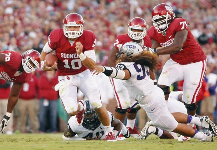 Oklahoma Tops TCU in Defensive Battle