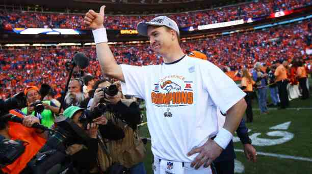 Manning Shines as Broncos Advance
